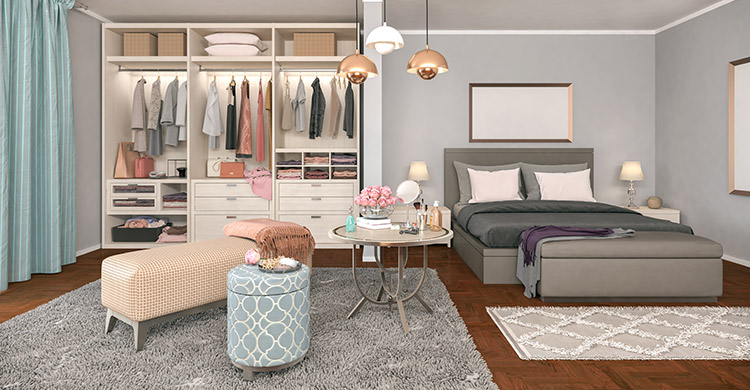 Dressing, chambre